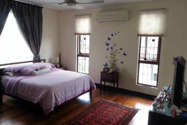 For Sale Bungalow at Forte, Bukit Jelutong Freehold Semi Furnished 6R/6B 3.9m