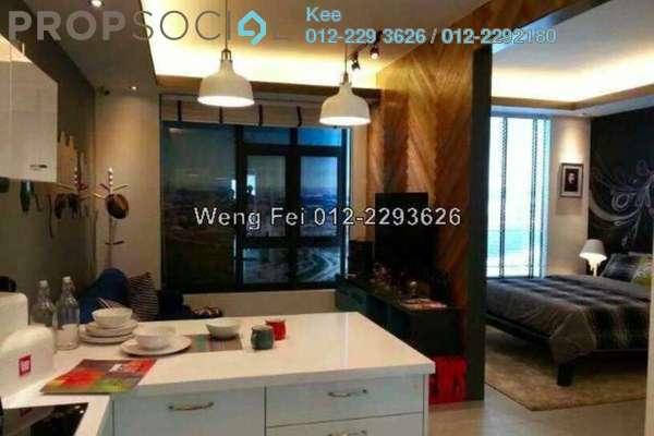 For Sale SoHo/Studio at Kanvas, Cyberjaya Freehold Semi Furnished 1R/1B 250k