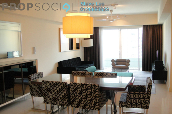 For Sale Condominium at Tiffani Kiara, Mont Kiara Freehold Fully Furnished 3R/3B 1.36m