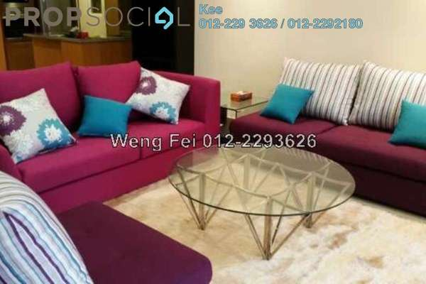 For Rent Condominium at Binjai Residency, KLCC Freehold Fully Furnished 3R/4B 8k