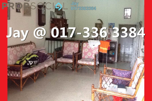For Sale Terrace at Taman Sri Bintang, Kepong Freehold Semi Furnished 3R/2B 598k