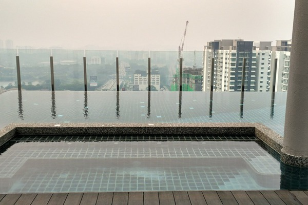 For Rent Condominium at Flexis @ One South, Seri Kembangan Leasehold Fully Furnished 3R/2B 2.5k