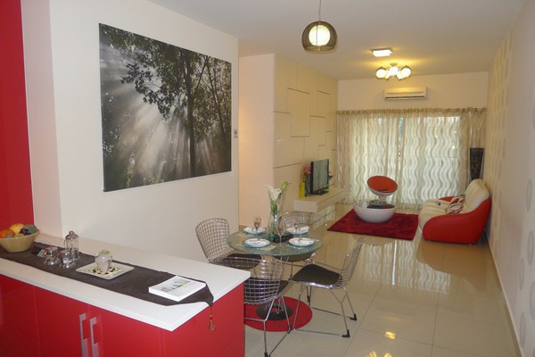 For Sale Condominium at OUG Parklane, Old Klang Road Freehold Semi Furnished 3R/2B 390k