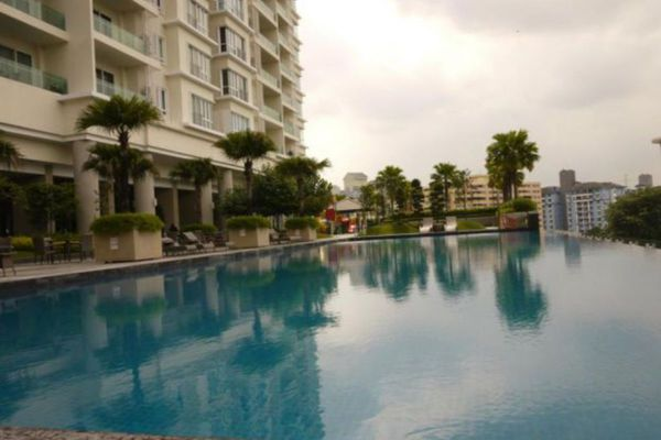 For Sale Condominium at The Park Residences, Bangsar South Leasehold Semi Furnished 4R/2B 1.6m