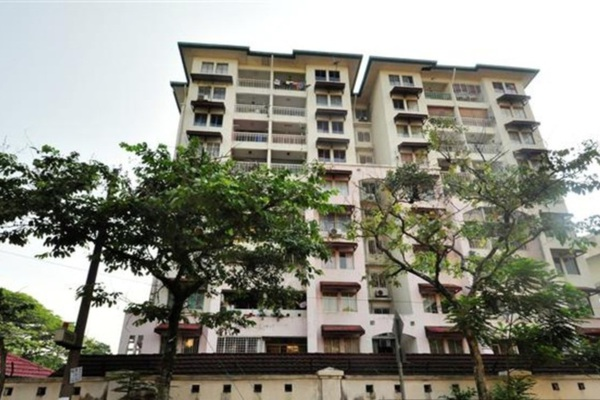 For Rent Condominium at Ixora Apartment, Pudu Leasehold Unfurnished 3R/2B 1.8k