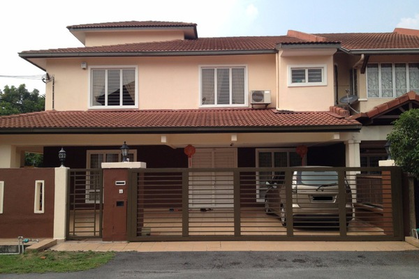 For Rent Terrace at Taman Dagang, Ampang Leasehold Fully Furnished 6R/3B 5.5千