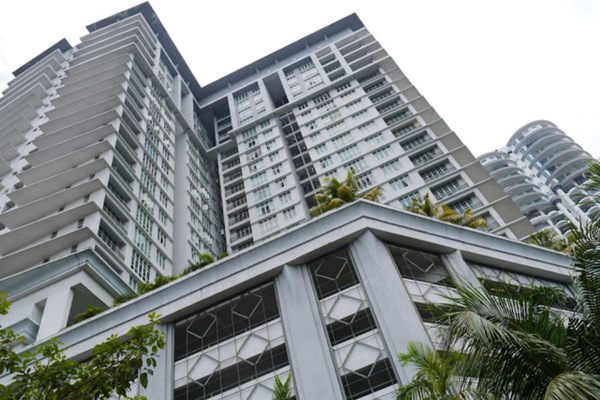 For Rent Condominium at Scott Sentral, Brickfields Freehold Fully Furnished 3R/2B 2.8k