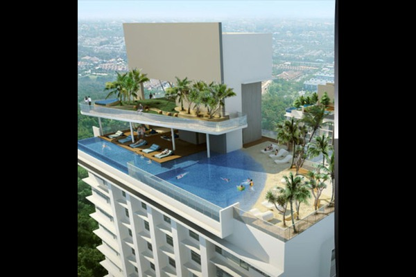 For Rent Condominium at VERVE Suites, Mont Kiara Freehold Fully Furnished 2R/1B 3.5k