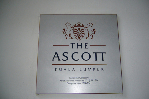 For Rent Condominium at Ascott Kuala Lumpur, KLCC Freehold Fully Furnished 1R/1B 3.5千