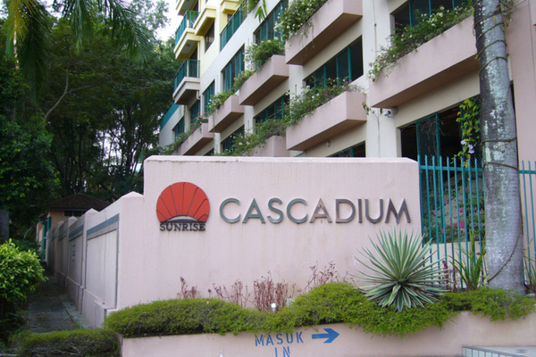 For Rent Condominium at Cascadium, Bangsar Freehold Fully Furnished 2R/2B 3.2千