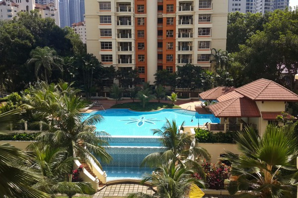 For Rent Condominium at Almaspuri, Mont Kiara Freehold Semi Furnished 3R/2B 3.5k