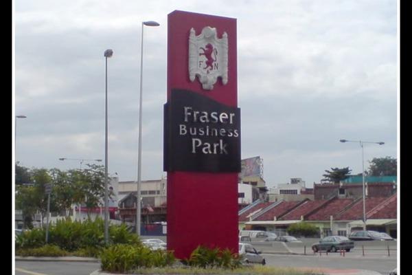 For Sale Shop at Fraser Business Park, Sungai Besi Freehold Unfurnished 0R/1B 5m