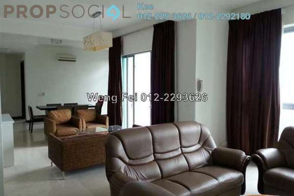 For Rent Condominium at Hampshire Residences, KLCC Freehold Fully Furnished 3R/5B 7.8k