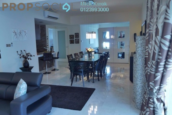 For Sale Condominium at Tiffani Kiara, Mont Kiara Freehold Fully Furnished 3R/5B 1.65m