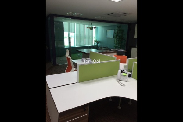 For Rent Office at The Verva, Bandar Puchong Jaya Freehold Fully Furnished 0R/1B 7k