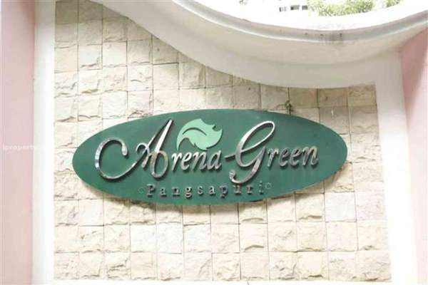 For Rent Condominium at Arena Green, Bukit Jalil Freehold Fully Furnished 3R/2B 1.2k