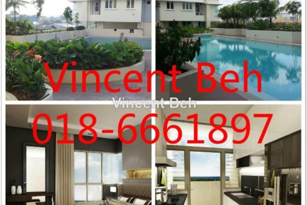 For Rent Condominium at Sutera Maya, Old Klang Road Freehold Semi Furnished 4R/2B 1.5k