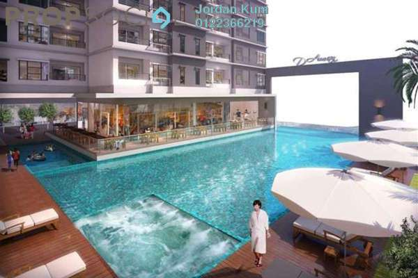 For Sale Condominium at Taman Puchong Prima, Puchong Freehold Semi Furnished 3R/2B 350k