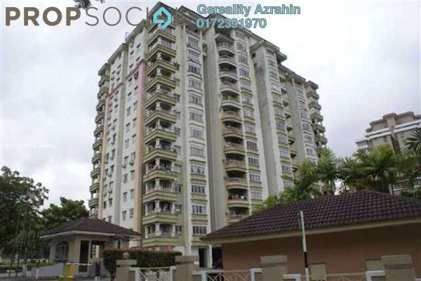 For Rent Condominium at Sri Mahligai, Shah Alam Leasehold Unfurnished 2R/2B 1.5k