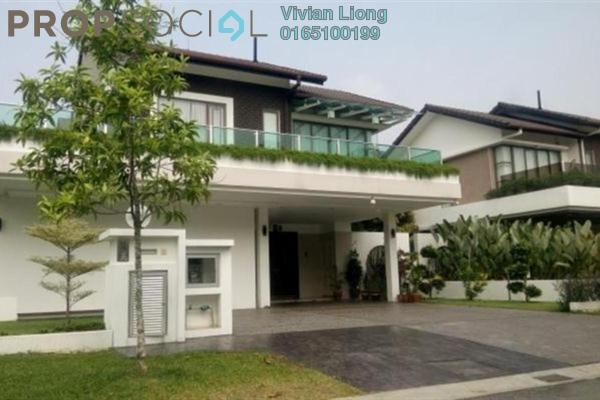 For Rent Bungalow at New Green Park, Rawang Freehold Semi Furnished 6R/6B 6k