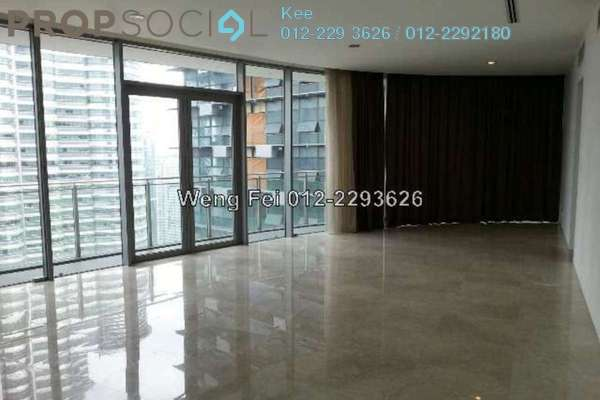 For Rent Condominium at K Residence, KLCC Freehold Semi Furnished 3R/3B 8.5k