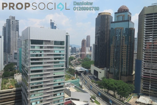 For Rent Condominium at Soho Suites, KLCC Freehold Semi Furnished 2R/1B 3k
