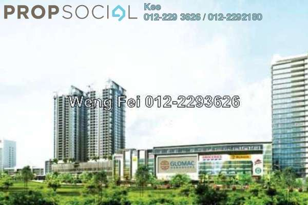 For Rent Condominium at Glomac Damansara, TTDI Freehold Semi Furnished 3R/4B 2.8k