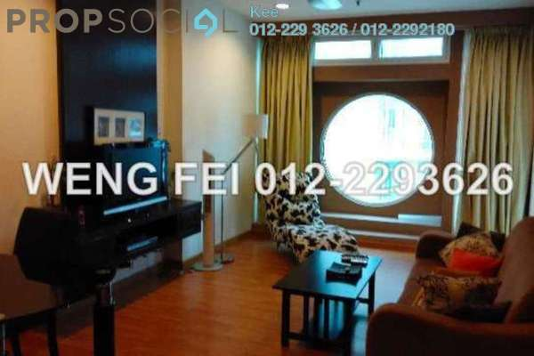 For Rent Condominium at Park View, KLCC Freehold Fully Furnished 1R/1B 3.5k