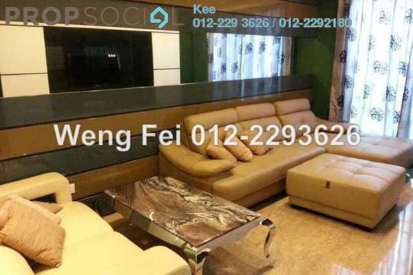 For Rent Condominium at 10 Mont Kiara, Mont Kiara Freehold Fully Furnished 4R/5B 12k