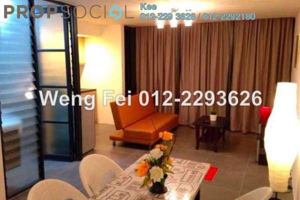 For Rent Duplex at Empire Damansara, Damansara Perdana Leasehold Fully Furnished 1R/2B 1.6k