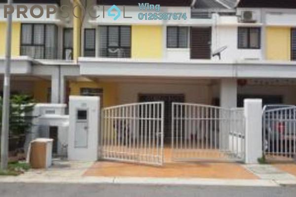 For Sale Terrace at Sutera Damansara, Damansara Damai Leasehold Semi Furnished 4R/3B 818k