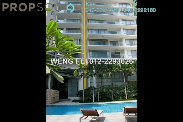 For Rent Condominium at Stonor Park, KLCC Freehold Semi Furnished 4R/4B 11.5千
