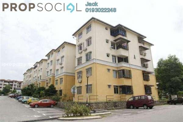 For Rent Apartment at Sri Baiduri, Ampang Leasehold Semi Furnished 3R/2B 1.5k