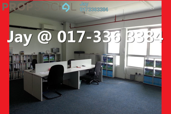 For Rent Office at 8trium, Bandar Sri Damansara Freehold Semi Furnished 0R/0B 1.5k