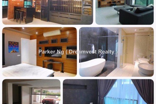 For Rent Terrace at The Treez, Bukit Jalil Freehold Fully Furnished 4R/6B 10k