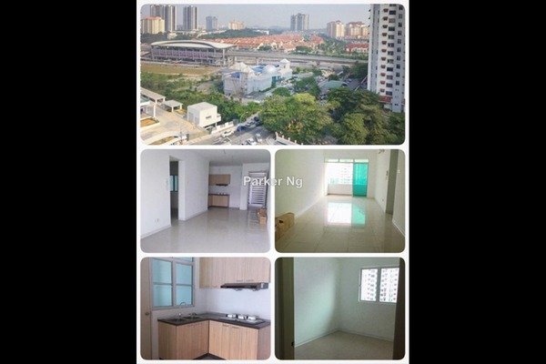 For Rent Condominium at Kiara Residence, Bukit Jalil Leasehold Semi Furnished 3R/3B 1.5k