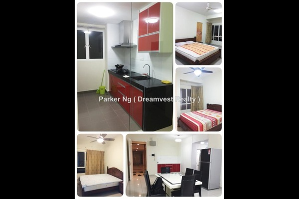 For Rent Serviced Residence at Endah Promenade, Sri Petaling Leasehold Fully Furnished 3R/3B 2.9k
