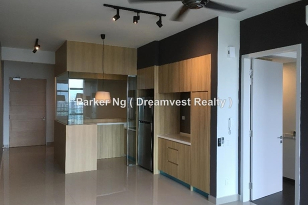 For Rent Serviced Residence at The Leafz, Sungai Besi Freehold Semi Furnished 2R/2B 2k