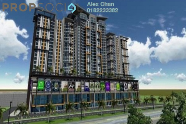For Sale Serviced Residence at Silk Sky, Balakong Freehold Unfurnished 3R/2B 434k