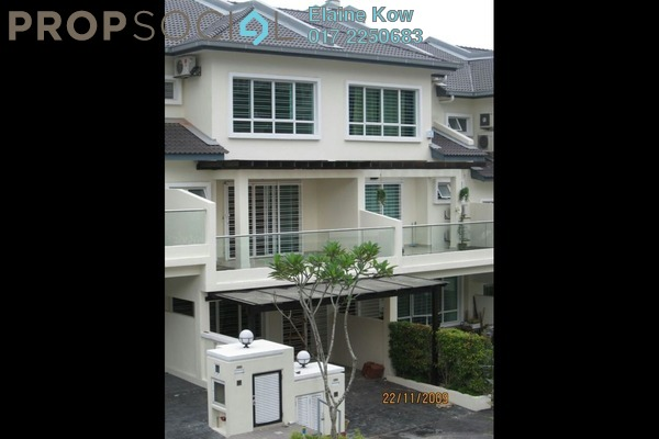 For Rent Terrace at Impian Villa, Mont Kiara Freehold Fully Furnished 5R/5B 4.5k