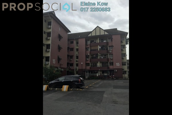 For Sale Apartment at 1C Pinang, Old Klang Road Leasehold Fully Furnished 3R/2B 350k