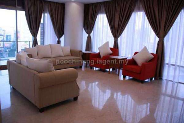 For Sale Condominium at Pavilion Residences, Bukit Bintang Leasehold Fully Furnished 3R/4B 4.09m
