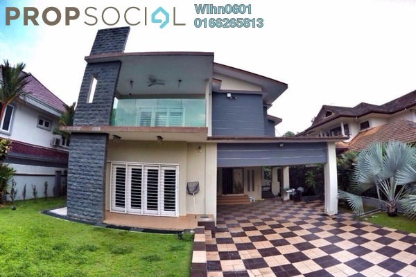 For Sale Bungalow at Suadamai, Bandar Tun Hussein Onn Freehold Semi Furnished 8R/8B 2.5m
