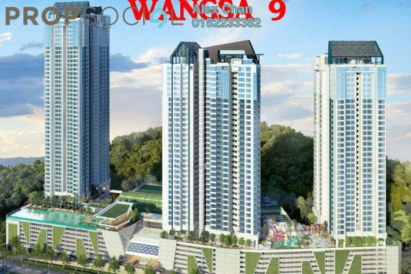For Sale Condominium at Wangsa 9 Residency, Wangsa Maju Leasehold Semi Furnished 2R/2B 788k