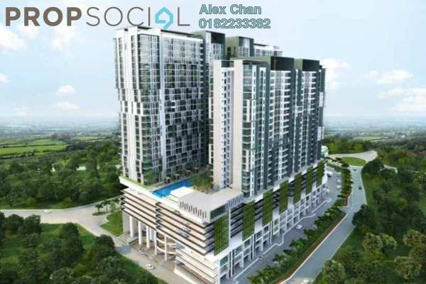 For Sale Serviced Residence at The Edge Residen, Subang Jaya Leasehold Unfurnished 2R/2B 431k