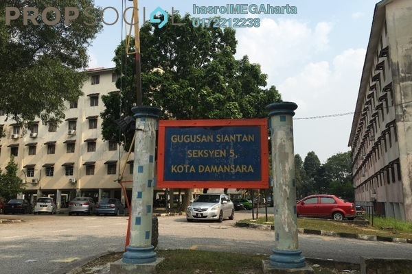 For Sale Apartment at Palm Spring, Kota Damansara Leasehold Unfurnished 3R/2B 165k
