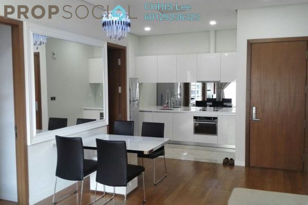 For Rent Condominium at Vipod Suites, KLCC Freehold Fully Furnished 2R/2B 4k