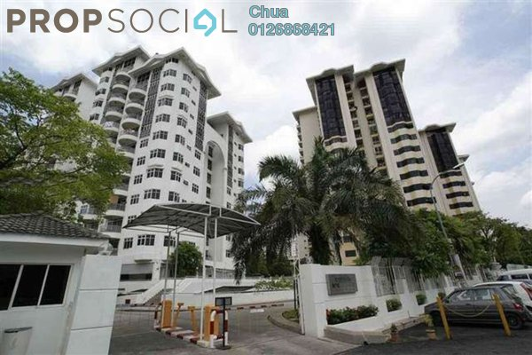 For Rent Condominium at One Ampang Avenue, Ampang Leasehold Fully Furnished 3R/3B 2.8k
