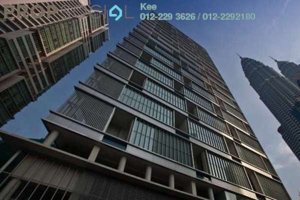 For Rent Condominium at One KL, KLCC Freehold Fully Furnished 3R/4B 17k