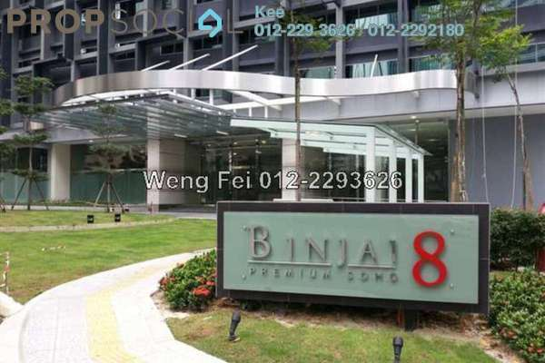 For Rent Office at Binjai 8, KLCC Freehold Fully Furnished 0R/0B 4.9k